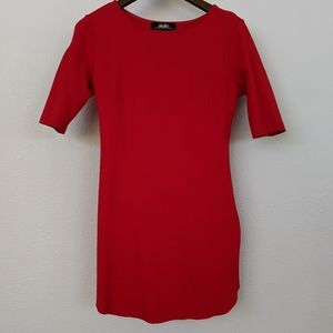 Lulu's Red Round the Curves Bodycon Dress
